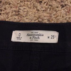 Shorts - Black Denim Cutoffs